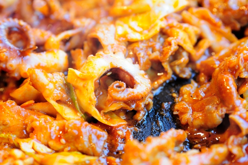 Papa's Recipe 파파 레시피 쭈꾸미 Octopus Close up