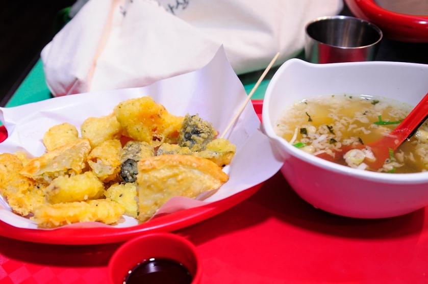 Jaws tempura 튀김