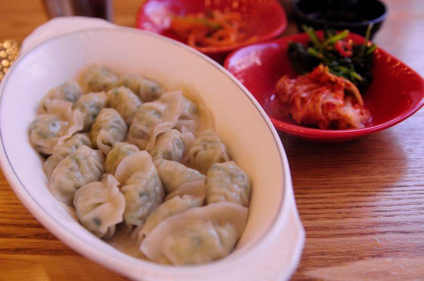 Pomato Boiled Dumplings 물 만두