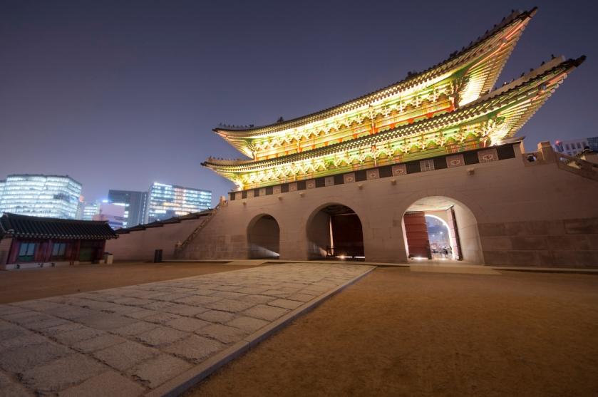 Front Gate Gyeongbokgung  경복궁