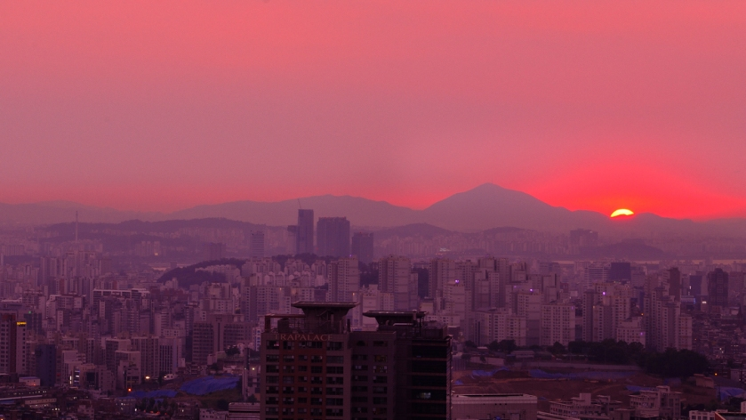 Namsan Sunset-2