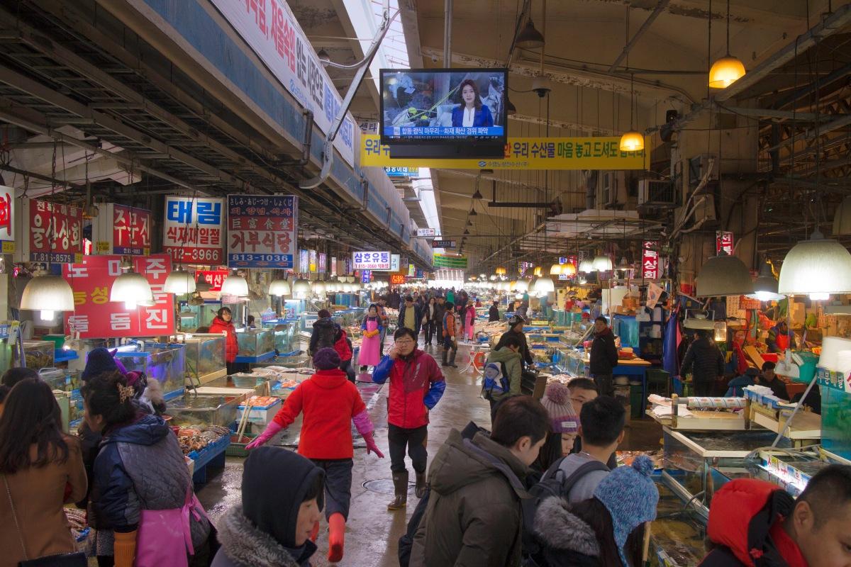 Noryangjin Fish Market (노량진수산시장)