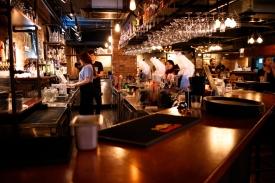 Nice bar.