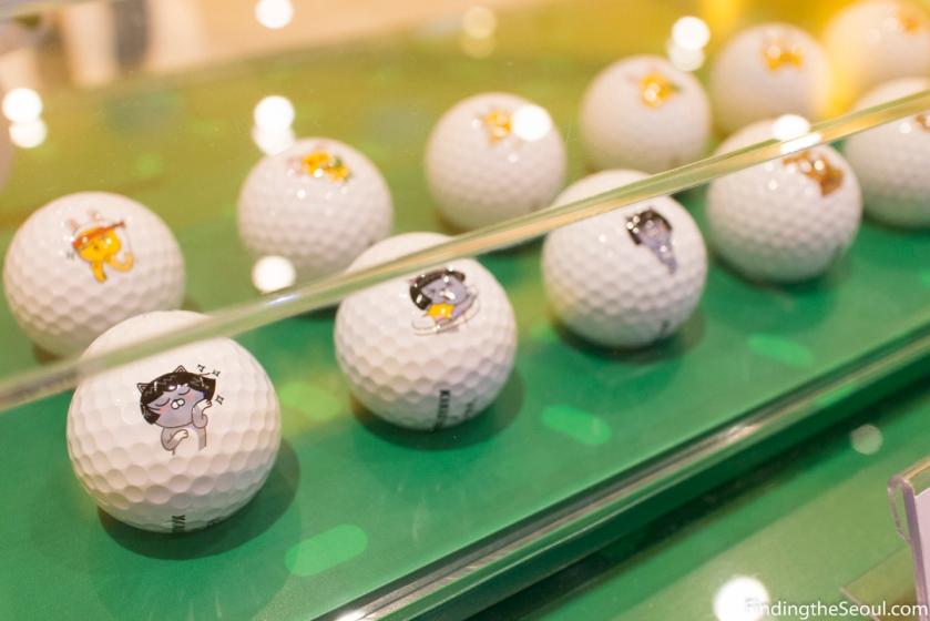 Seasonal golf balls for summer