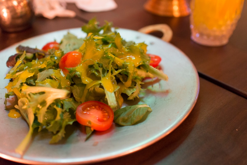 Yeti Indian Restaurant Salad