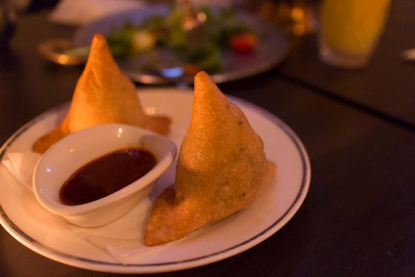 Yeti Indian Restaurant Samosa