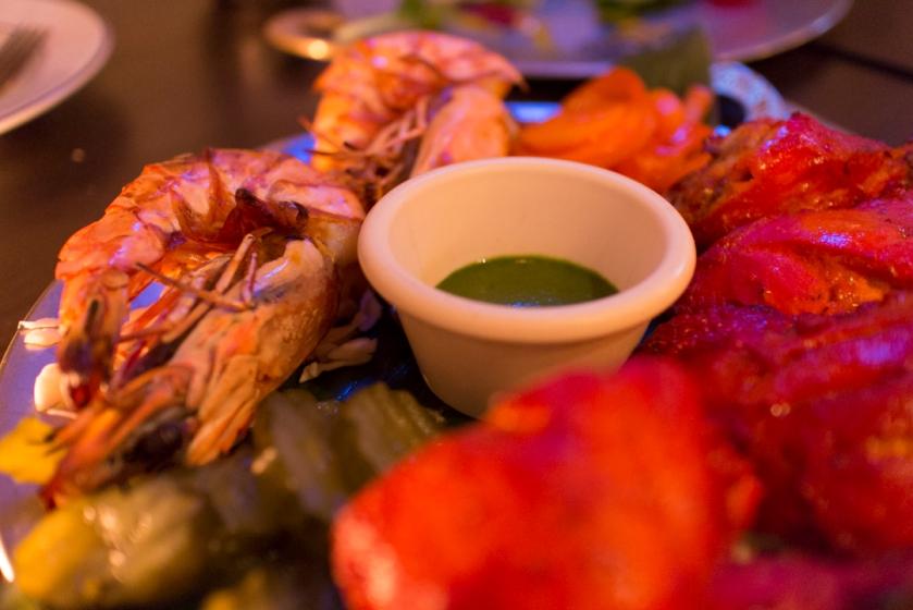 Yeti Indian Restaurant Prawn
