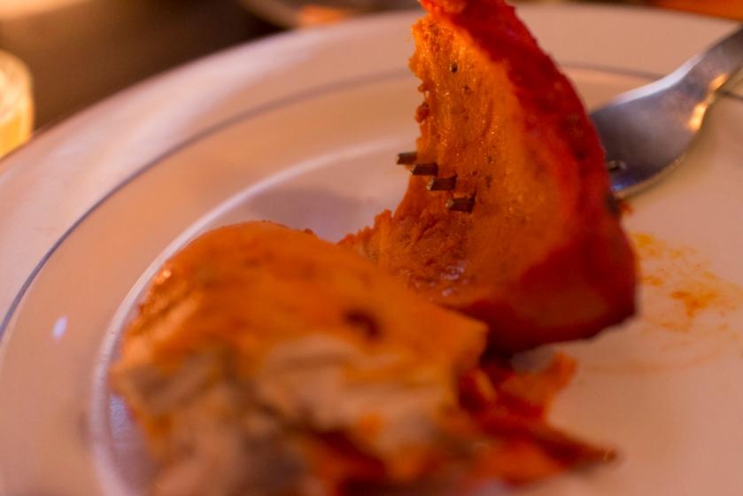Yeti Tandoori Chicken under the skin