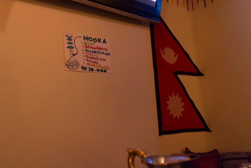 Yeti Indian Restaurant Hookah
