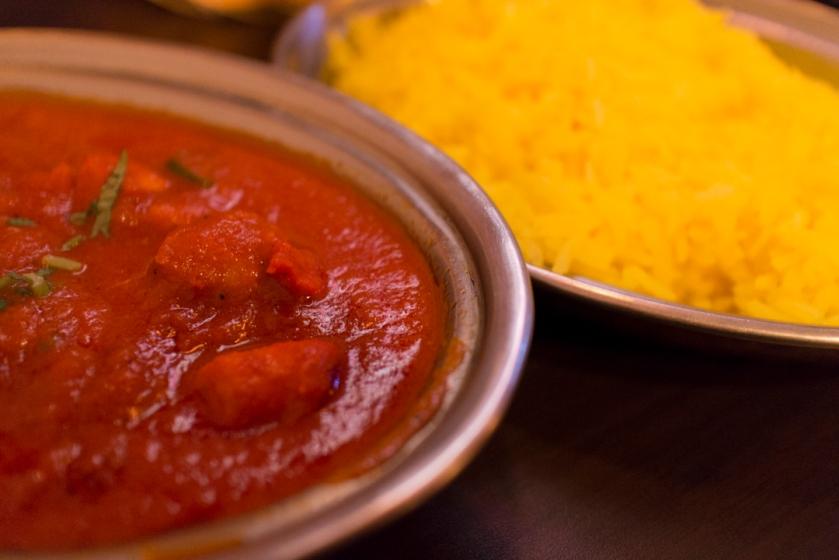 Yeti Indian Restaurant Chicken Tikka Masala