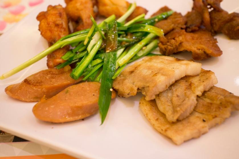 Todai Hot Dog and Samgyupsal Pork Belly