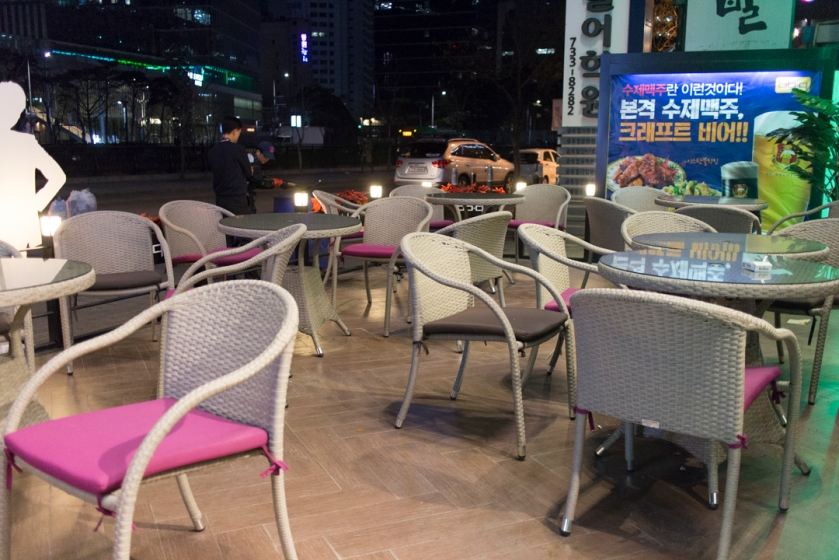 BBQ Premium Cafe 비비큐 Outdoor Seating
