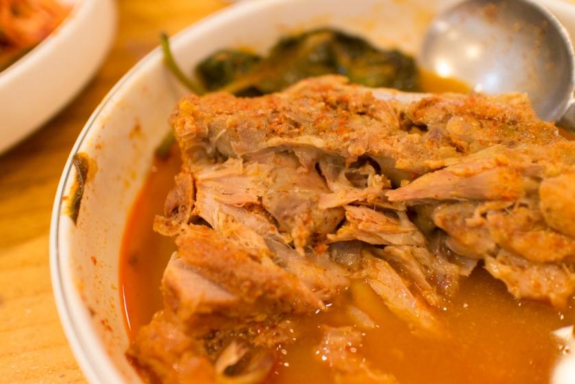 평창할마이집 감자탕 pork bone