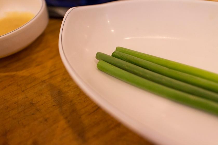 평창할마이집 garlic sprouts