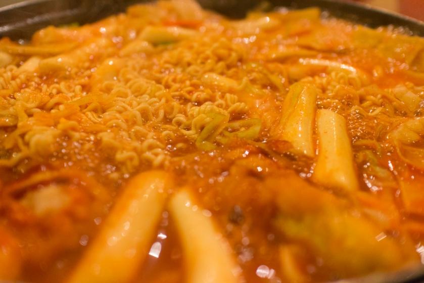 호야즉석떡볶이 cooking