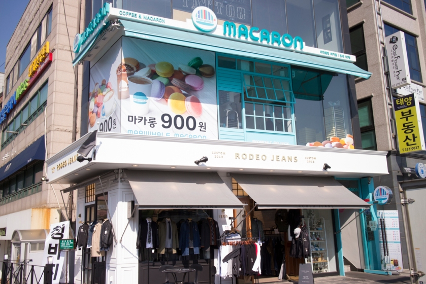 Mariwhale Hongdae Storefront