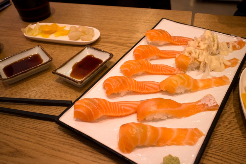 별스시 Star Sushi salmon set 연어 set