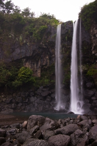 Jeongbang Waterfalls (정방폭포)