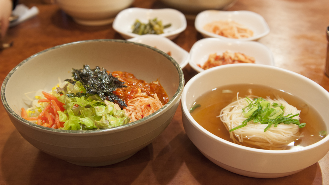 Seoul Cheap Eats: 봉주르정식(Bonjour)