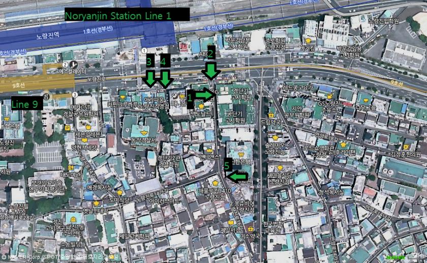 Noryangjin Map Tour