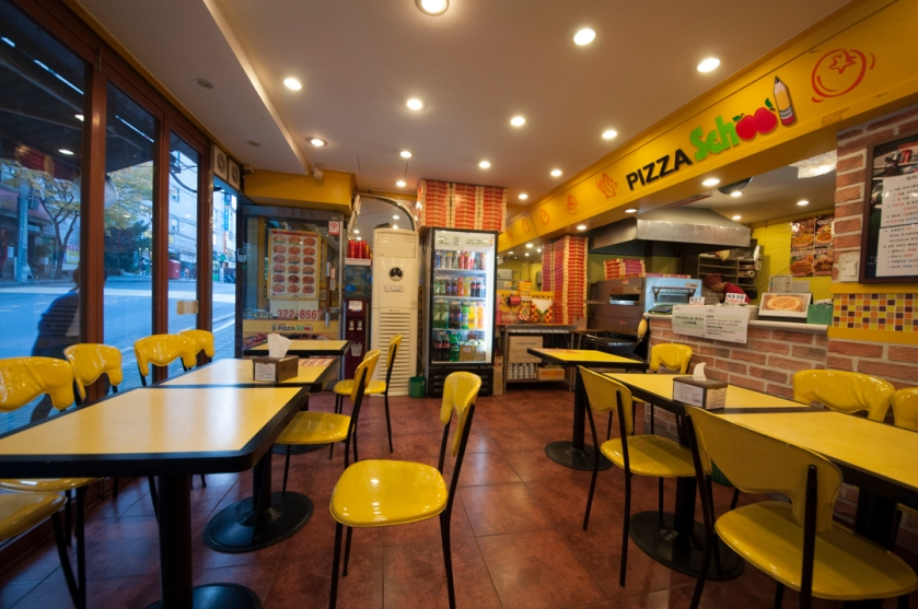 Pizza School 피자스쿨 Interior