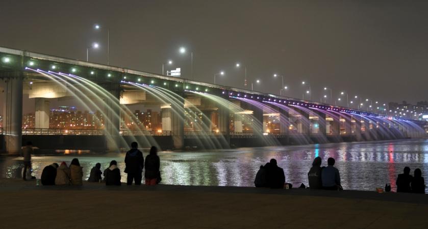 Banpo Bridge 반포대교 1181