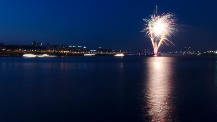 Banpo Bridge 반포대교 Fireworks 1