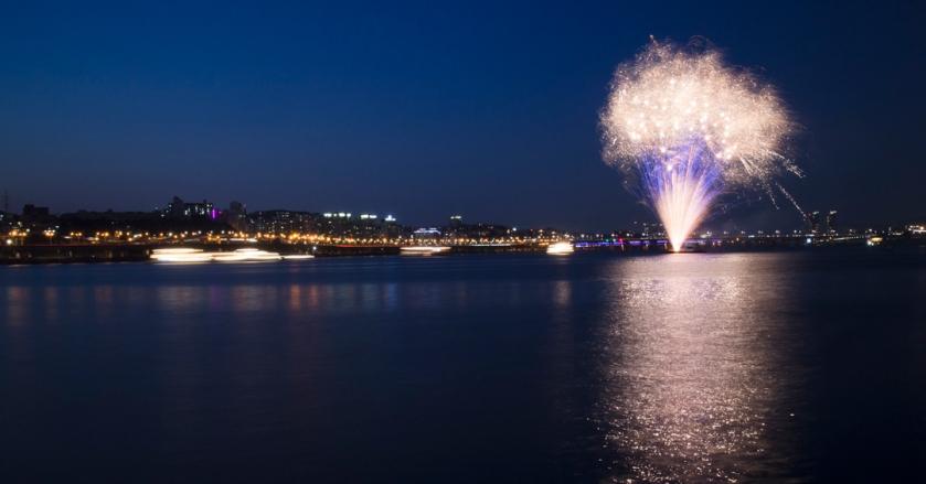 Banpo Bridge 반포대교 Fireworks 2