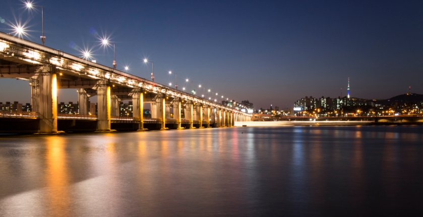 Banpo Bridge 반포대교 Show off