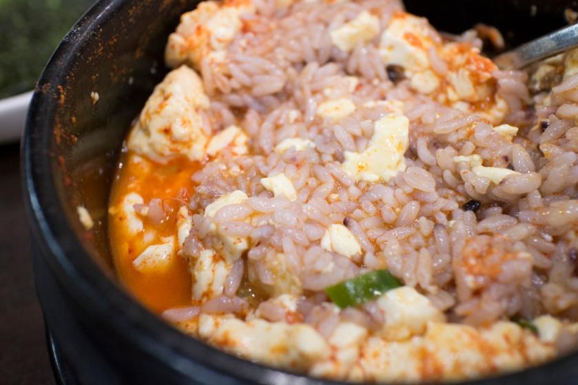 복창동순두부  rice soup