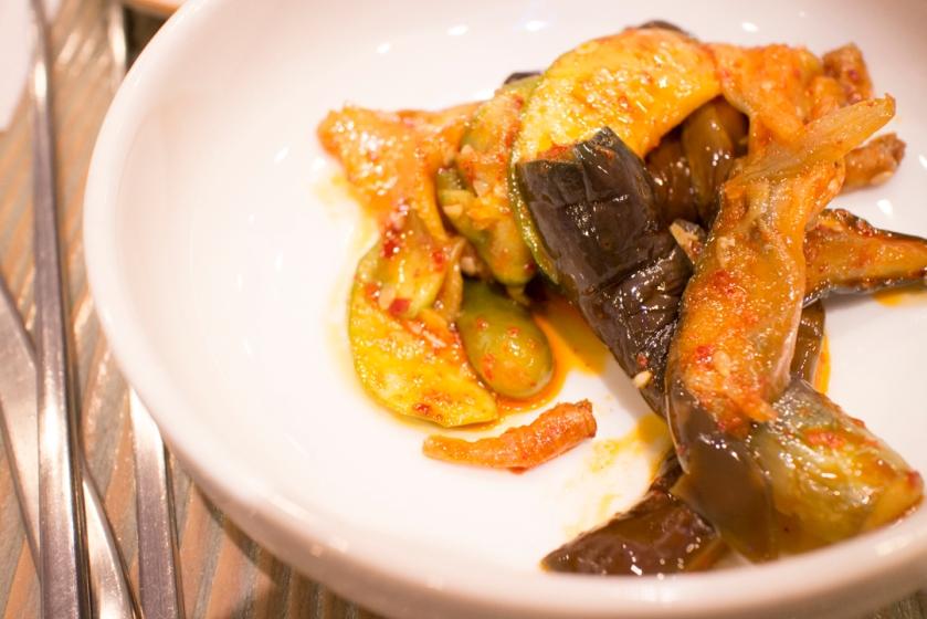 Masan Agujjim 마산아구찜 Eggplant