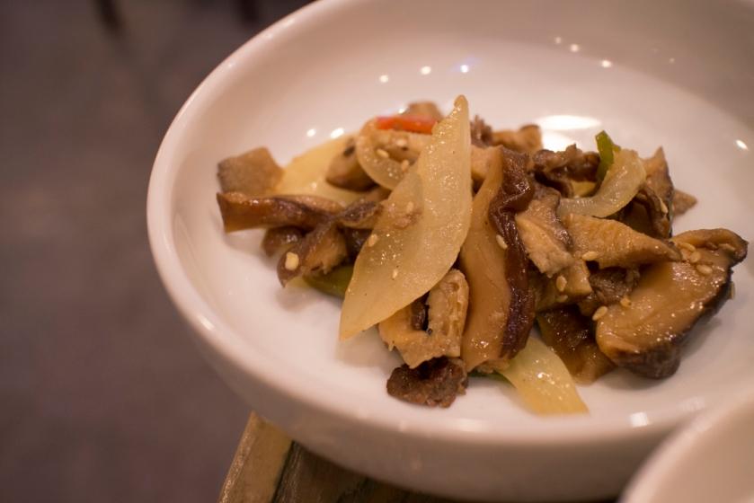 Masan Agujjim 마산아구찜 Mushrooms