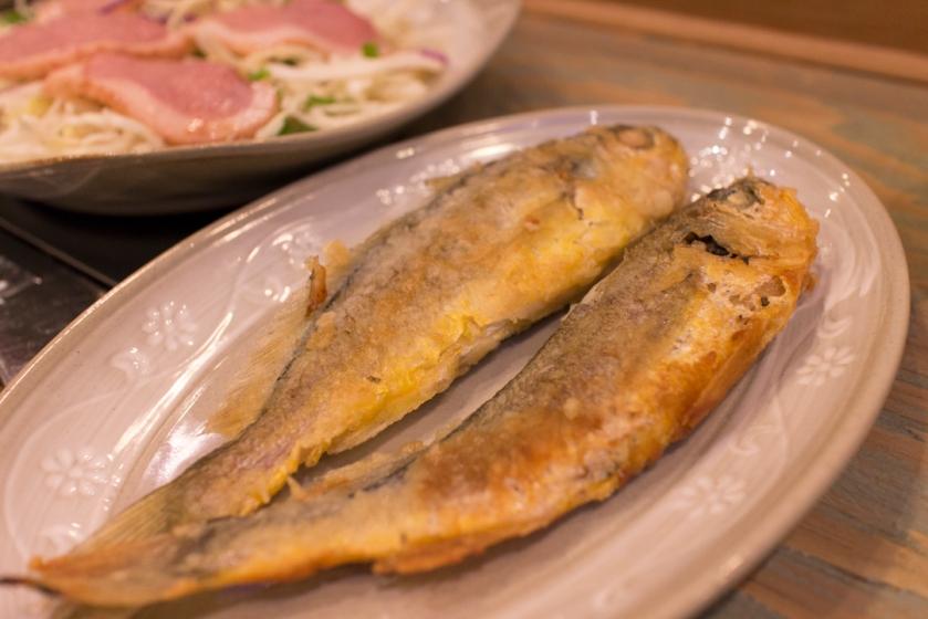 Masan Agujjim 마산아구찜 grilled fish