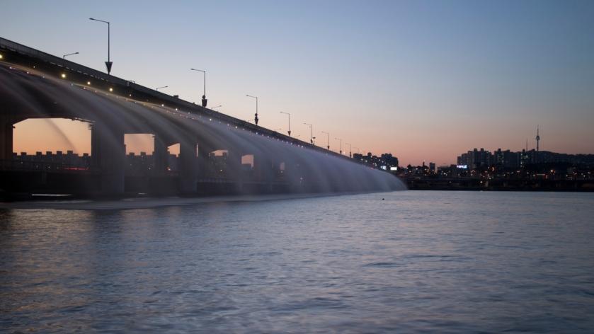 Banpo Bridge 반포대교 Sunset