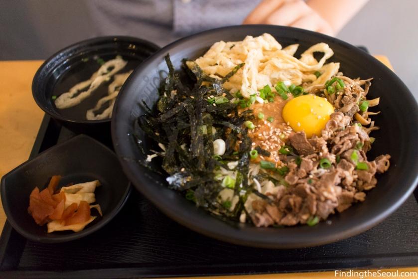 돈텐동식당 Dontendong Shikdang Kara Miso Udong Set