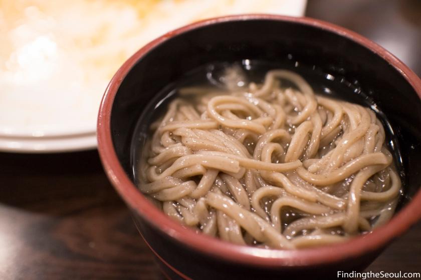 자연밥상 Natural Food buckwheat noodles