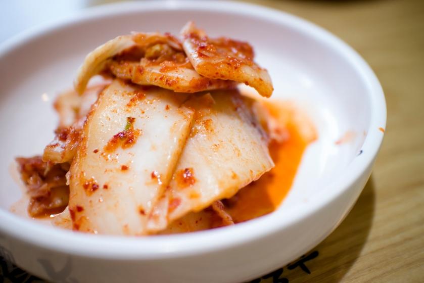 Misari Milbit chogyeguksu 미사리 밀빛 초계국수 Kimchi