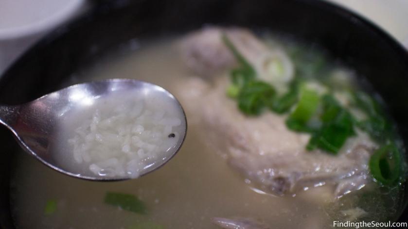 궁 삼계탕 Goong Samgyetang Rice