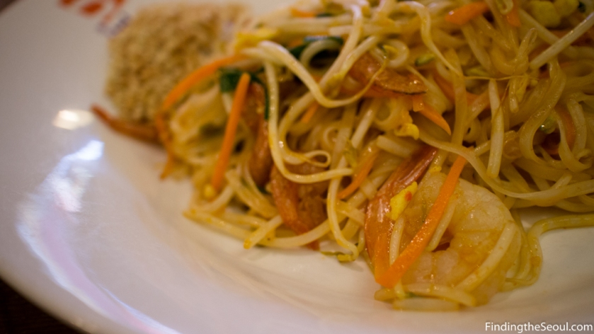 N Thai 엔타이 Pad Thai Close Up