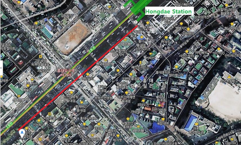 Ongdarae Map