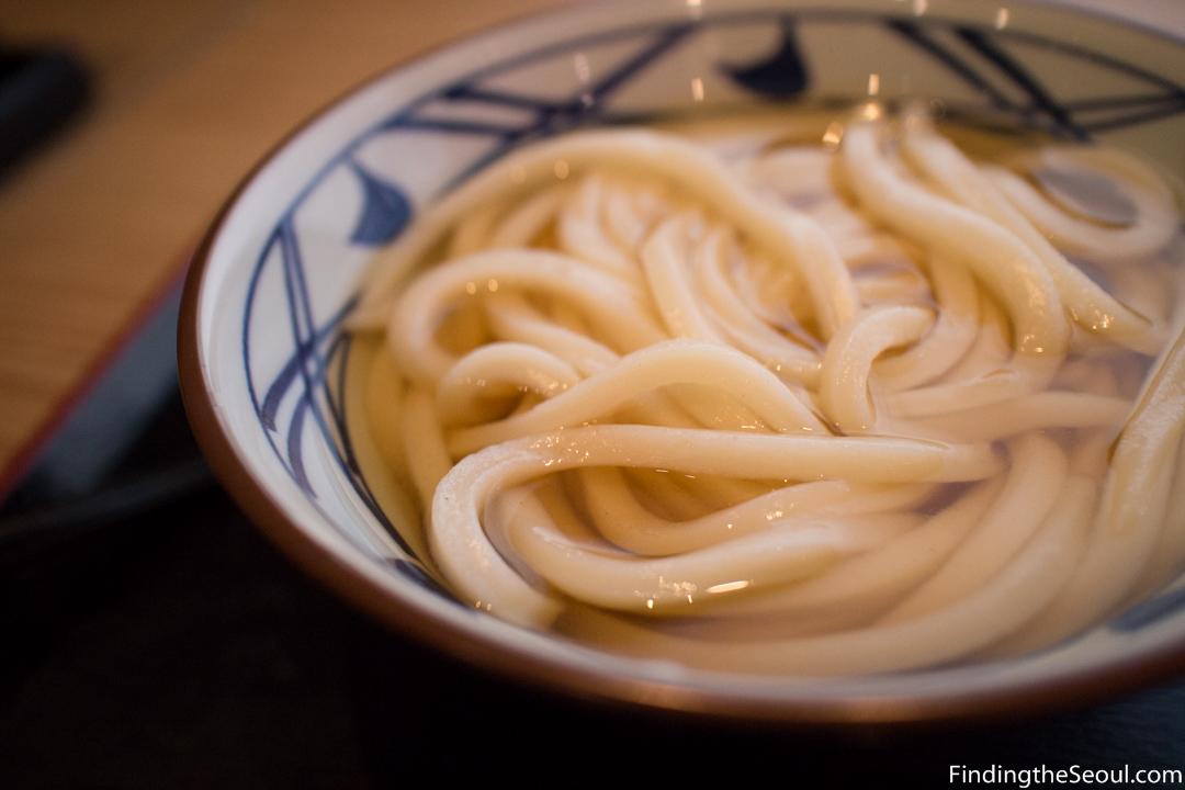 Seoul Cheap Eats: 마루가메 제면 (Marukame JapaneseUdon)