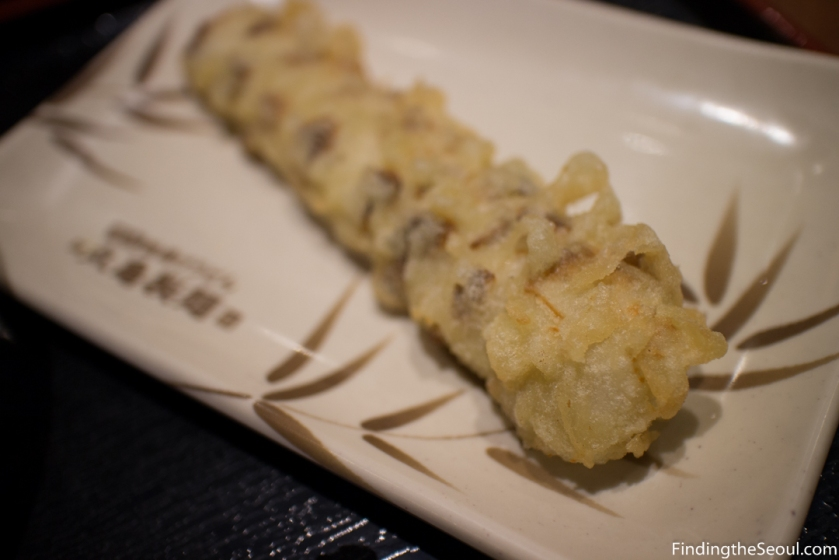 Marukame Udon 마루가메 제면- Puree Fish Tube