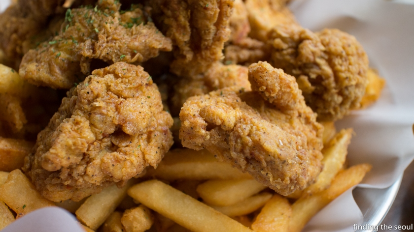 Chicken and Curry Goon Close Up