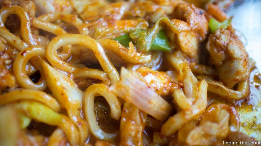 Janggun Chicken Kalbi Close Up