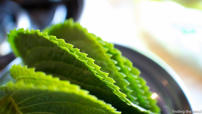 Janggun Chicken Kalbi Perilla Leaf