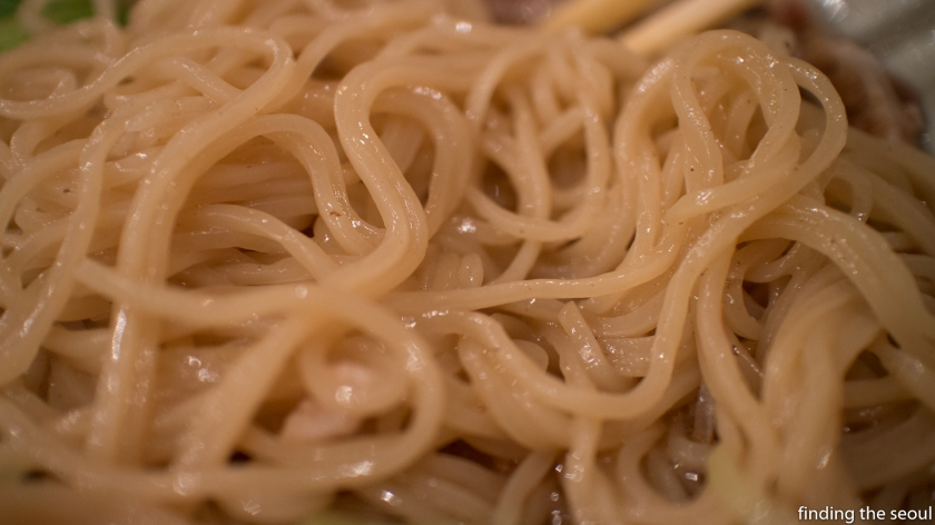 Menyasandaime 멘야산다이메 Ramen Noodles Up close
