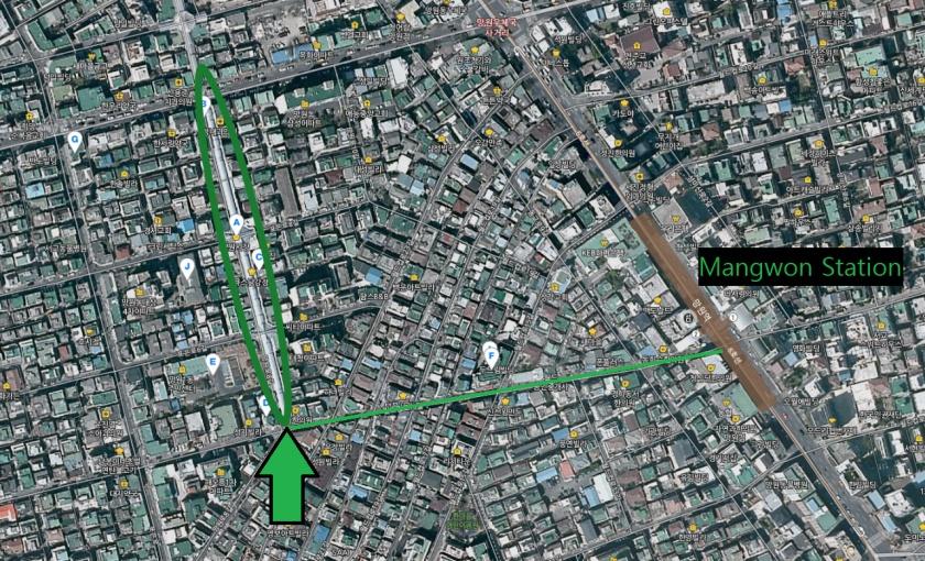 mangwon-market-map