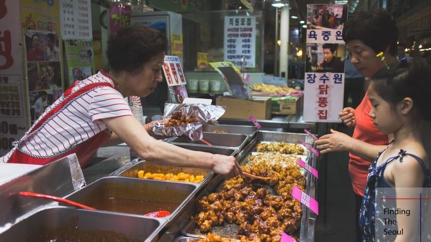 Mangwon Market Chicken Kajeong 닭가정